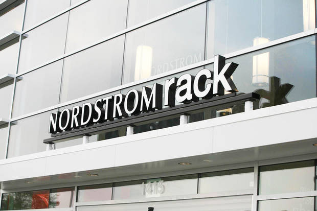 The outside of a Nordstrom Rack store is shown.   PHOTO PROVIDED BY NORDSTROM
