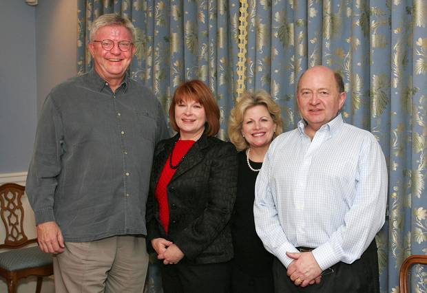 Jim Latting, Suzette Hatfield, Debby and Paul Dudman. - Photo By David Faytinger, For The Oklahoman