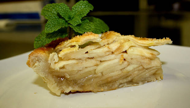 Apple pie from Pie Junkie is shown. PHOTOS PROVIDED