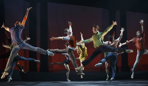 "Members of the ""West Side Story"" company   Photo by Carol Rosegg <strong>Photo by Carol Rosegg</strong>"