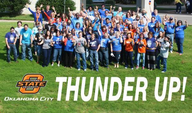 Oklahoma State Thunders Up in Stillwater, Okla.