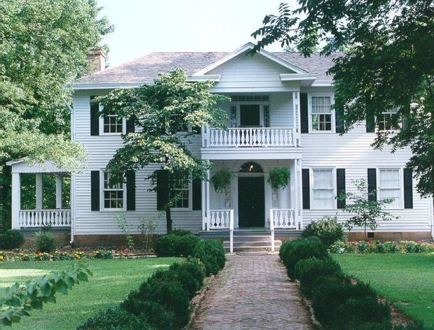 The well-preserved George M. Murrell home in Park Hill was built in the early- to mid-1800s and called the &acirc;Hunter&acirc;s Home.&acirc; PHOTO PROVIDED