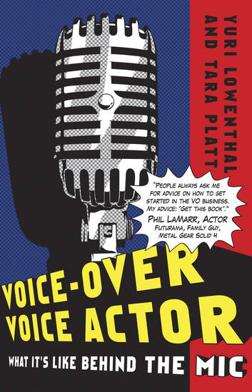 Voice-Over Voice Actor, from Bug Bot Press