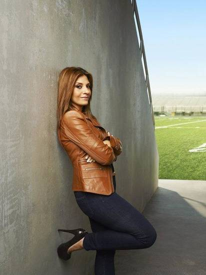NECESSARY ROUGHNESS -- Season: 2 -- Pictured: Callie Thorne as Dani Santino -- Photo by: Andrew Eccles/USA Network
