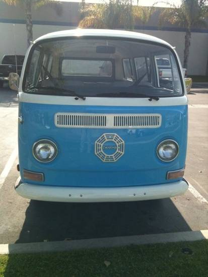 "This VW van is the grand prize in the ""Lost: How Will It End"" video contest."