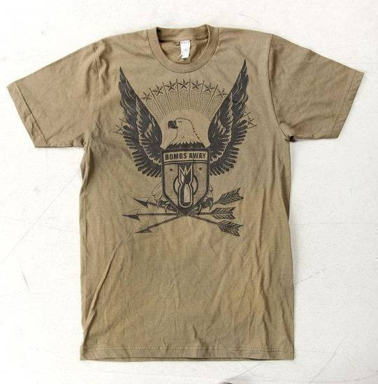 The Patriot is from the Bombs Away line of T-shirts by artist and designer Dustin Oswald. Photo by Chris Landsberger, The Oklahoman. <strong>CHRIS LANDSBERGER</strong>