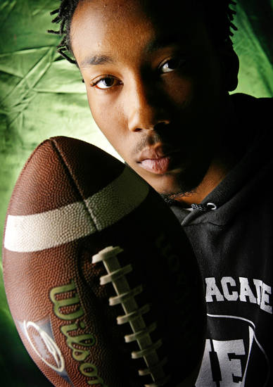 Northeast High School's Ishmael Underdown All Little City Defensive Back.