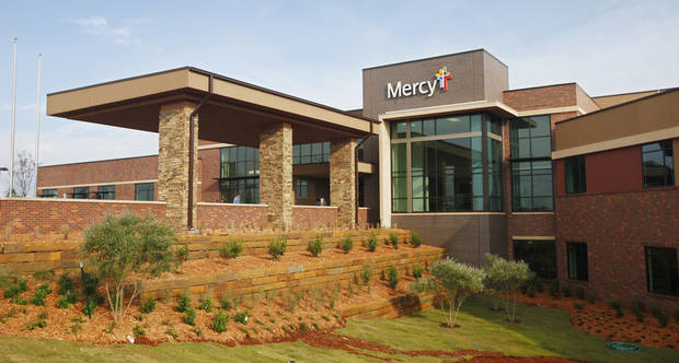 The exterior front of Mercy Rehabilitation Hospital, 5401 W Memorial Road, in Oklahoma City on Friday, Sept. 28, 2012. Photo by Paul B. Southerland, The Oklahoman