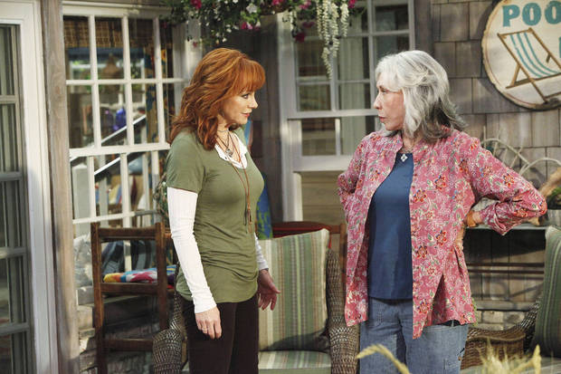 "From left, Oklahoma native Reba McEntire and Lily Tomlin star in the new sitcom ""Malibu Country,"" premiering at 7:30 p.m. Friday on ABC. ABC photo. <strong>Nicole Wilder</strong>"