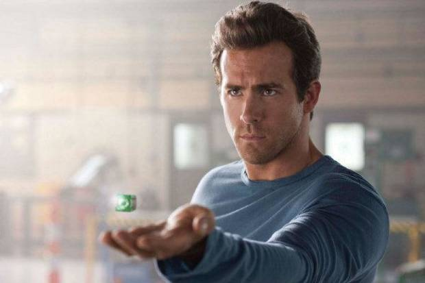"Ryan Reynolds plays Hal Jordan in ""Green Lantern."" Warner Bros. Pictures photo <strong>Francois Duhamel TM & © DC Comic</strong>"