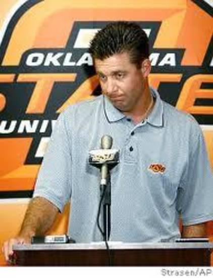 Mike Gundy doesn't tell the jokes, but he can arrange some.
