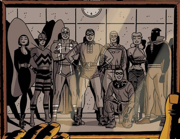 "An image from ""Before Watchmen: Minutemen"" No. 1.  DC Comics"