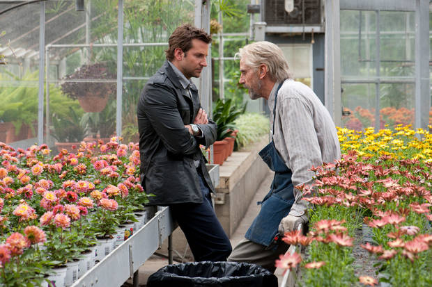 "Bradley Cooper, left, and Jeremy Irons in a scene from ""The Words."" CBS FILMS PHOTO <strong>Jonathan Wenk</strong>"