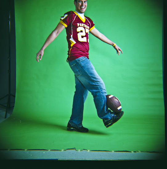 Kevin Cabello of Putnam City North High School on Monday, Dec. 14, 2009, in Oklahoma City, Okla.   Photo by Chris Landsberger, The Oklahoman