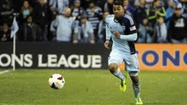 Kevin Ellis, shown here in a match with Sporting Kansas City, was loaned to Oklahoma City Energy FC on Monday. PHOTO PROVIDED