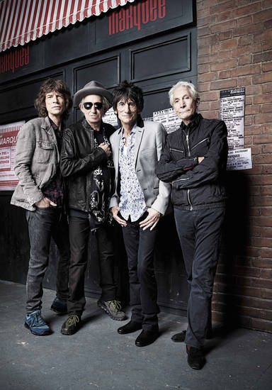 From left, Mick Jagger, Keith Richards, Ronnie Wood and Charlie Watts of The Rolling Stones - Photo: Rankin/courtesy of HBO