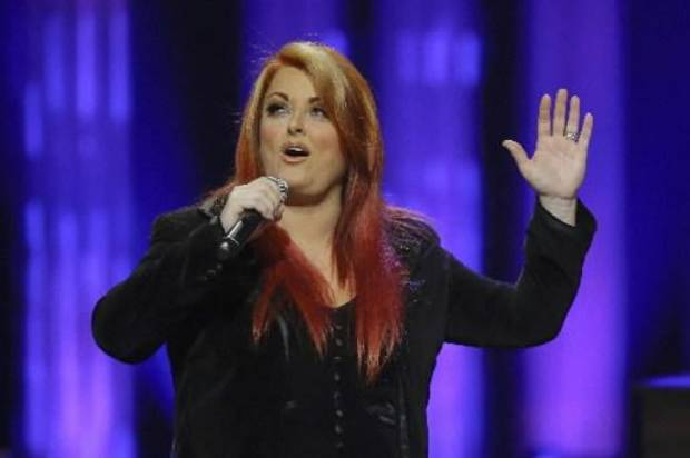 Wynonna Judd performs during the funeral for country music star George Jones in the Grand Ole Opry House on Thursday, May 2, 2013, in Nashville, Tenn. Jones, one of country music's biggest stars who had No. 1 hits in four separate decades, died April 26. (AP)