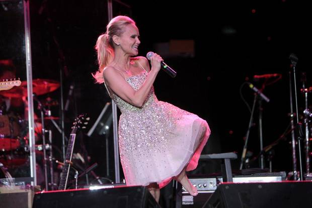 Kristin Chenoweth performs at the 2011 Oklahoma Music Hall of Fame. Photo by Jay Spear