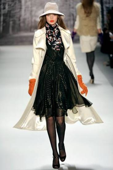 Milly fall 2011 collection shown on the runway in New York. Photo: style.com