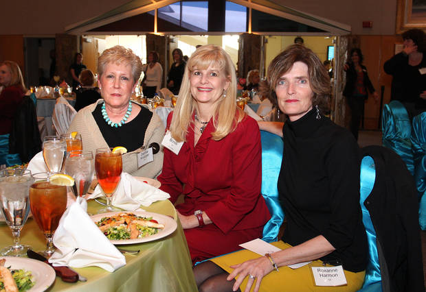 Denise Kruger, Cheryl Borelli, Roxanne Harmon. PHOTO BY DAVID FAYTINGER, FOR THE OKLAHOMAN