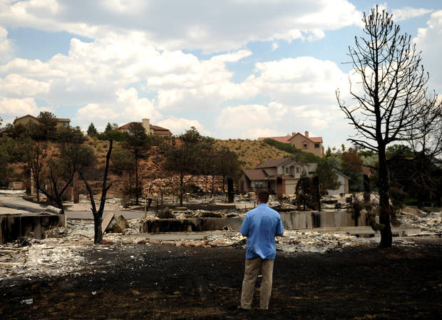 Article Photos: Residents to tour areas devastated by Colo. blaze ...