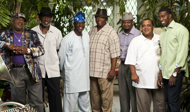The Dirty Dozen Brass Band leads the list of world-class jazz and blues artists for Norman�s 30th annual Jazz in June music festival. Photo provided