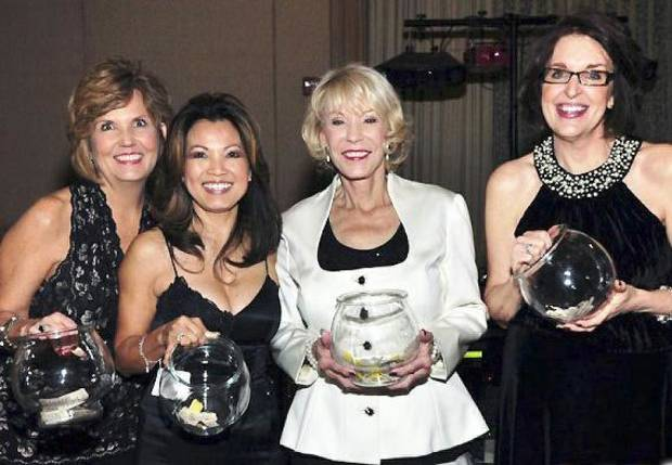 Marion Paden, Barbara Newey, Tina Majors, Valerie Aubert. Photo provided