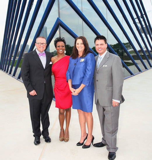 Scott Davis, Amy McGloroy, Annetta Abbott, David Leader.  PHOTOS BY DAVID FAYTINGER, FOR THE OKLAHOMAN