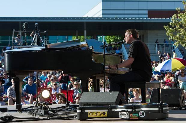 Grammy-nominated singer-songwriter John Fullbright, who grew up and lives in Bearden, performs last weekend at the Guthrie Green in Tulsa. Photo provided by Vicki Farmer