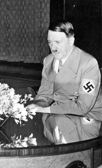 Adolf Hitler, German leader