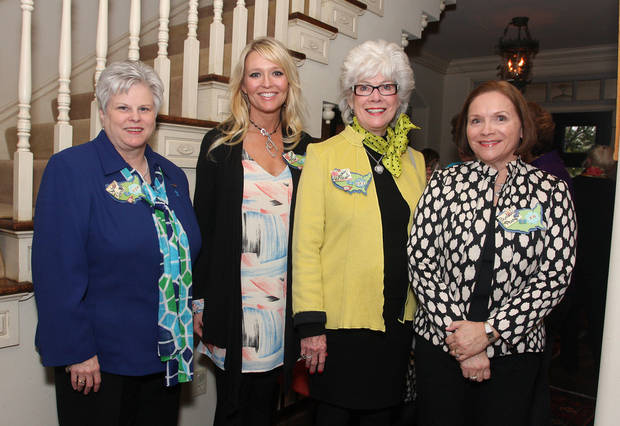 Sylvia Roberts, Shannon Price, Ramona Paul, Barbara Perry. PHOTO BY DAVID FAYTINGER, FOR THE OKLAHOMA <strong></strong>