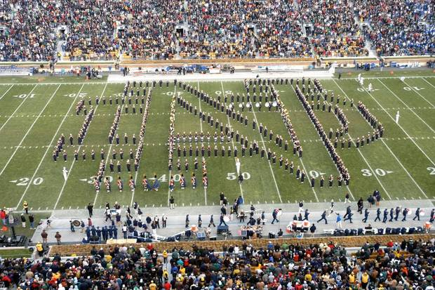 Notre Dame's marching band will rehearse at Noble High School on Oct. 27 before OU's home game against the Irish. The event is free and open to the public.