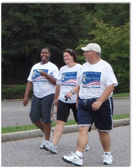 Participants take part in a previous Walk from Obesity event in Oklahoma City.  <strong>Provided by Barry Keith, Journey Clinic</strong>