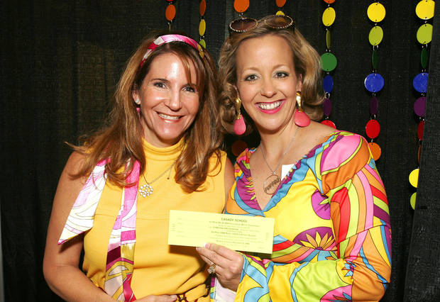 Roberta Roush and Karen Hanstein. -  PHOTO BY DAVID FAYTINGER, FOR THE OKLAHOMAN