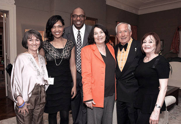 Kanela Huff, Scotia Moore, Stephan Moore, Carleen and Jerry Burger, Connie Givens.