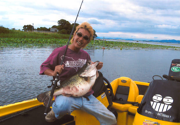 Will this largemouth bass tie George Perry's world record?