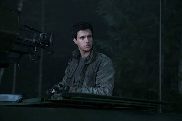 "Drew Roy plays Hal Mason in ""Falling Skies."" - Photo by James Dittiger/TNT"