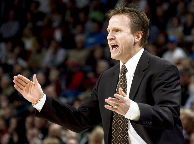 Oklahoma City Thunder coach Scott Brooks just missed out on a second NBA championship ring. Photo by Bryan Terry, The Oklahoman