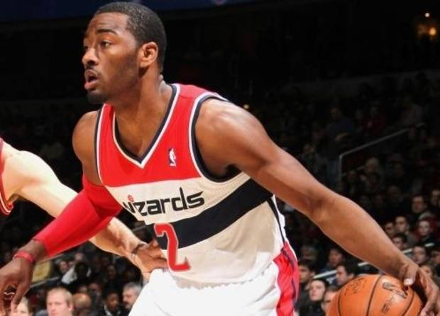 Washington Wizards point guard John Wall.