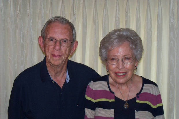 Don and Pat Wonderly, of Bethany, were married Aug. 31, 1952, in El Reno.