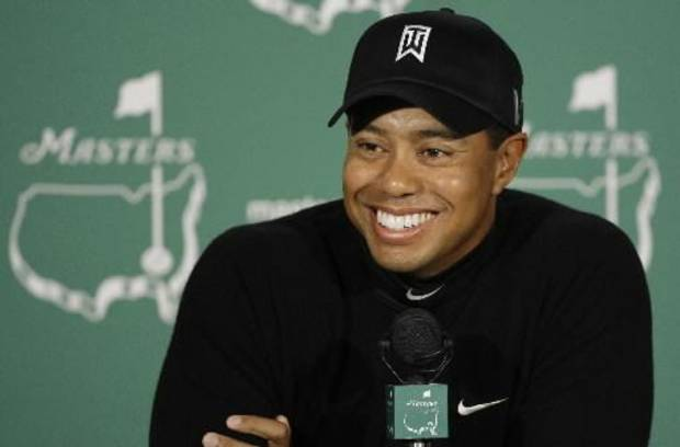 Tiger Woods at the Masters golf tournament in 2009. (AP photo by Chris O'Meara)