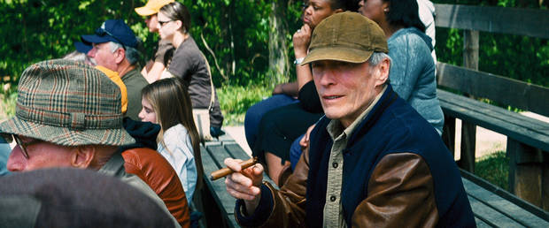 """CLINT EASTWOOD as Gus in Warner Bros. Pictures' drama """"TROUBLE WITH THE CURVE,"""" a Warner Bros. Pictures release."""
