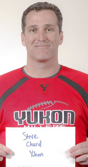 Yukon defensive coordinator Steve Chard is expected to be named the head coach at Enid on Thursday.