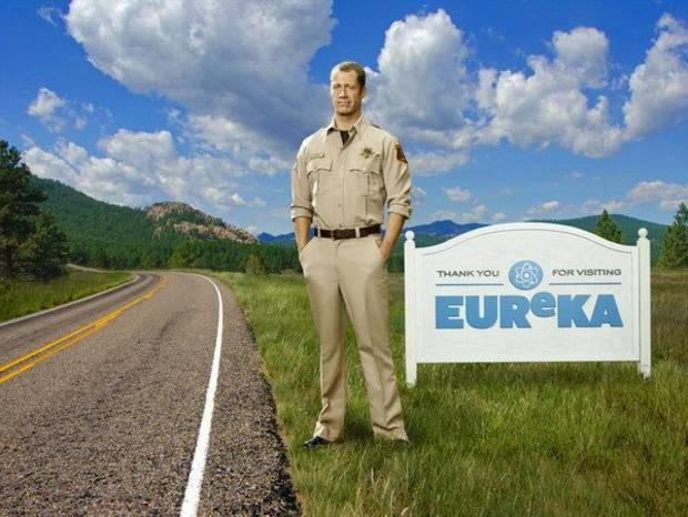EUREKA -- Season: 5 -- Pictured: Colin Ferguson as Jack Carter -- (Photo by: Justin Stephens/Syfy)