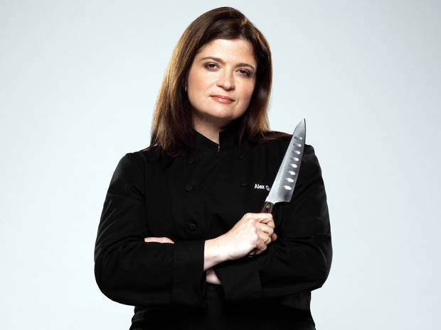 The Next Iron Chef, Season 4, Press Gallery Shoot, Alex Guarnaschelli-Chef/Rival, As seen on Food Network, Next Iron Chef season 4