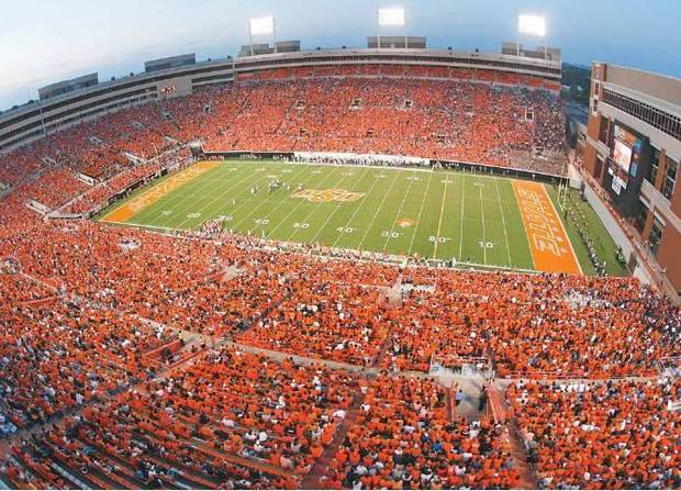 Photo of Boone Pickens Stadium by Chris Landsberger