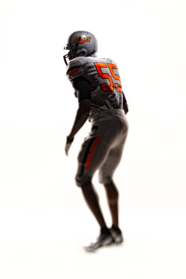 An all silver version of OSU's new uniforms. PHOTO PROVIDED