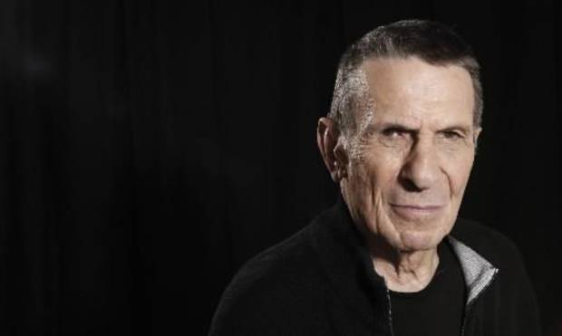 Leonard Nimoy (AP file photo)