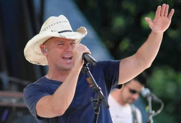 Country singer Kenny Chesney