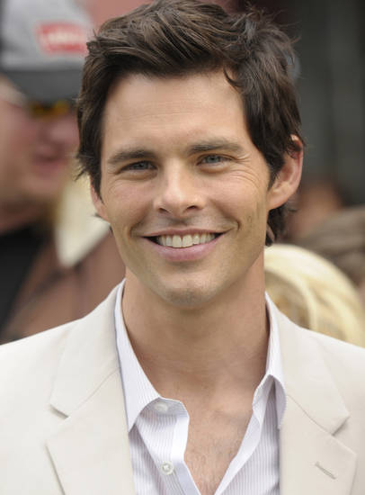 James Marsden - AP Photo/Dan Steinberg